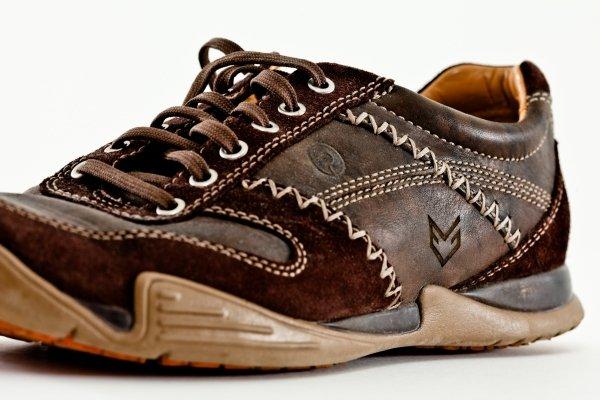 Gravur auf Schuh